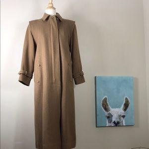 Vintage Saks Fifth Avenue Wool Coat - by Sanyo